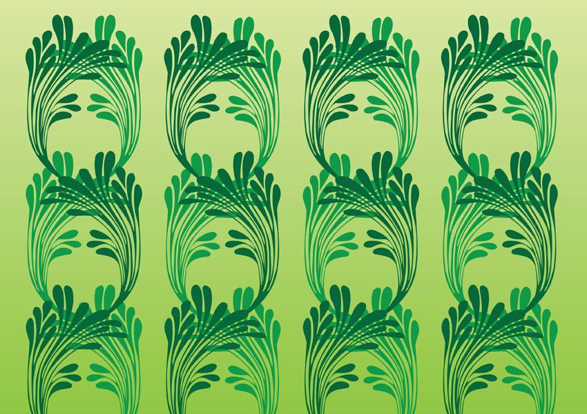 850x600 Art Nouveau Vector Pattern Vector Art Amp Graphics