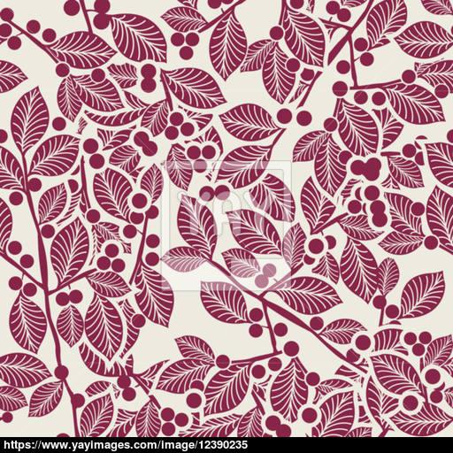 512x512 Art Nouveau Pattern Vector