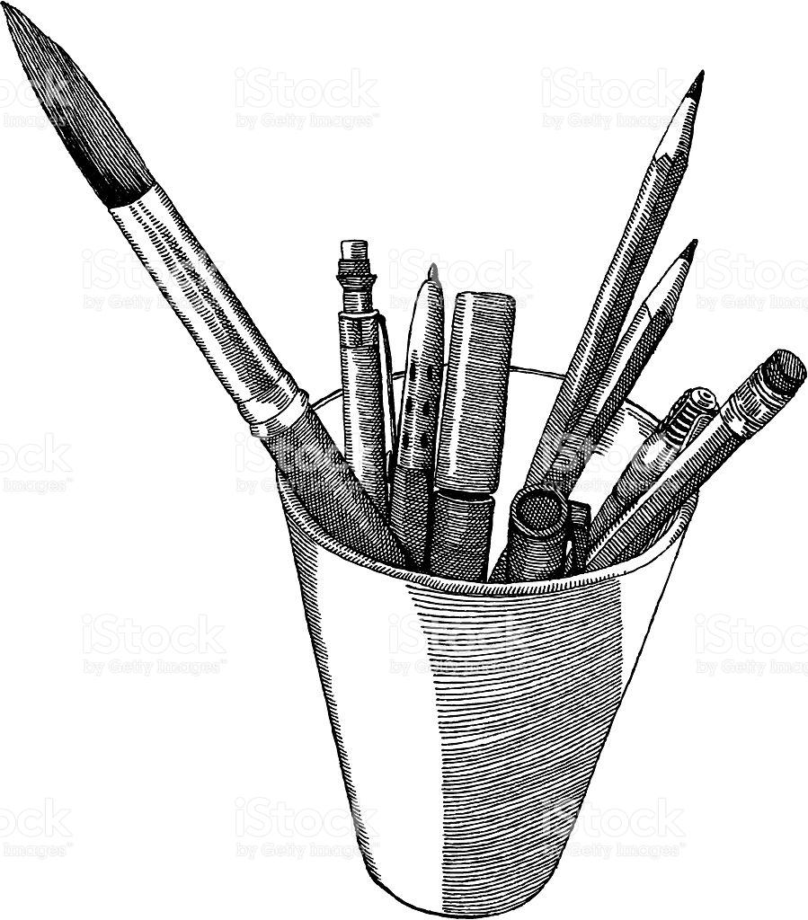 Art Supplies Vector