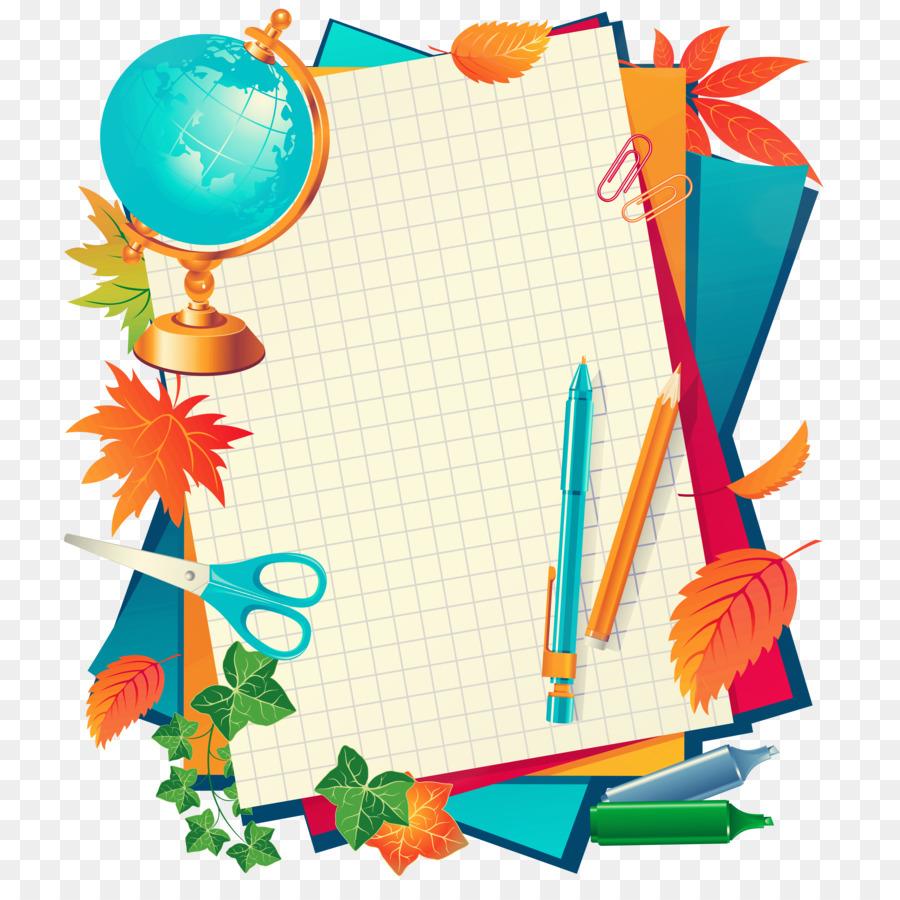 900x900 Student Paper School Clip Art