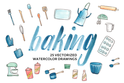 500x333 Watercolor Clipart Art Supply