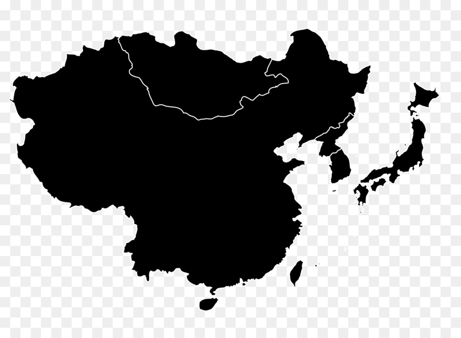 900x660 China Southeast Asia Vector Map