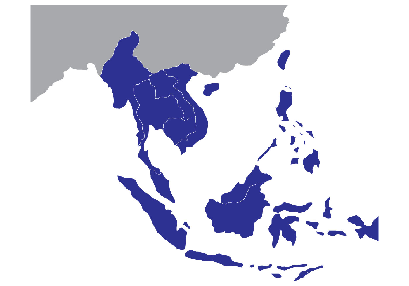 1400x980 South East Asia Free Vector Art