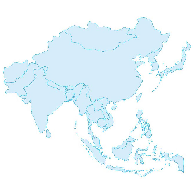 Australia Map Vector Ai.Asia Vector At Getdrawings Com Free For Personal Use Asia Vector