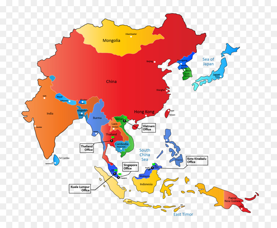 900x740 Asia Pacific East Asia Vector Graphics World Map