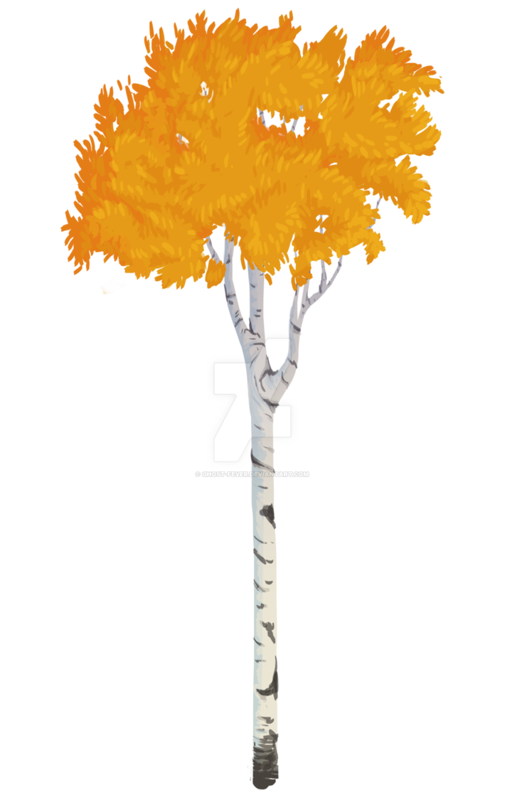 710x1125 Aspen Tree Vector Style By Ghost Fever