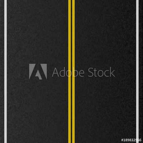 500x500 Design Of Empty Urban Road. Marking Road, Asphalt Texture. Vector