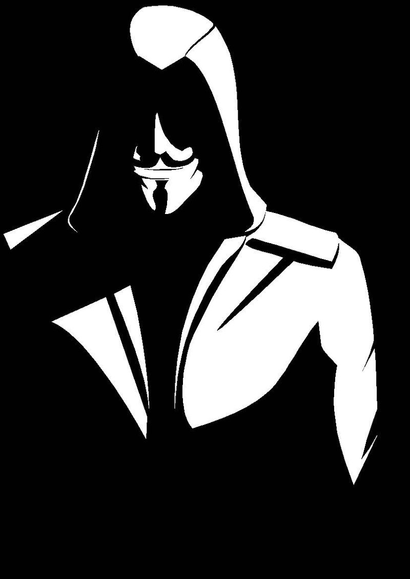 800x1131 Assassin Anonymous Hacker By Fkartwork
