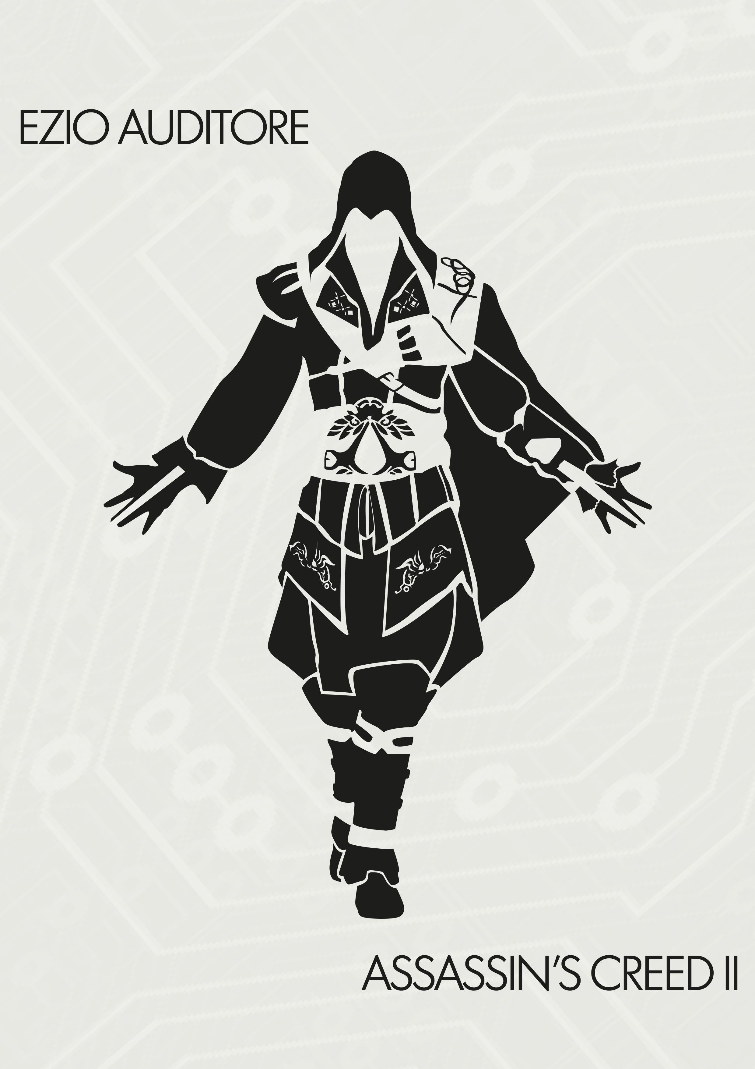 2480x3508 Ezio By Lestath87