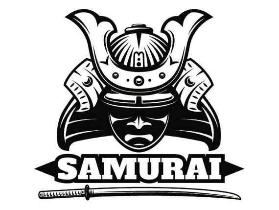 570x429 Samurai Warrior Martial Arts Sword Assassin Powerful Fighter Etsy