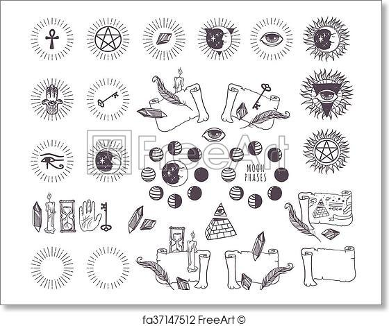 Astrology Vector At Getdrawings Free For Personal Use