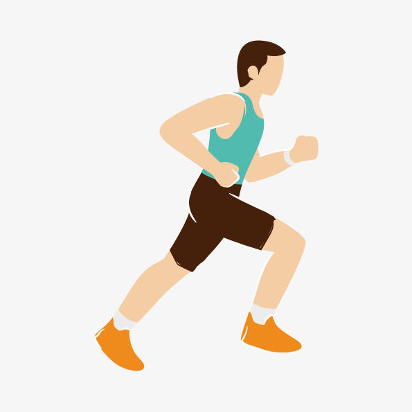 595x595 Vector Running Athletes, People Running, Vector Athletes, Athlete
