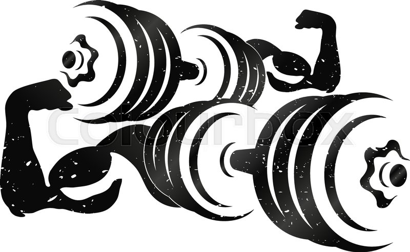 800x492 Dumbbell, Arms, Gym, Fitness, Muscle, Vector, Bodybuilding, Sport