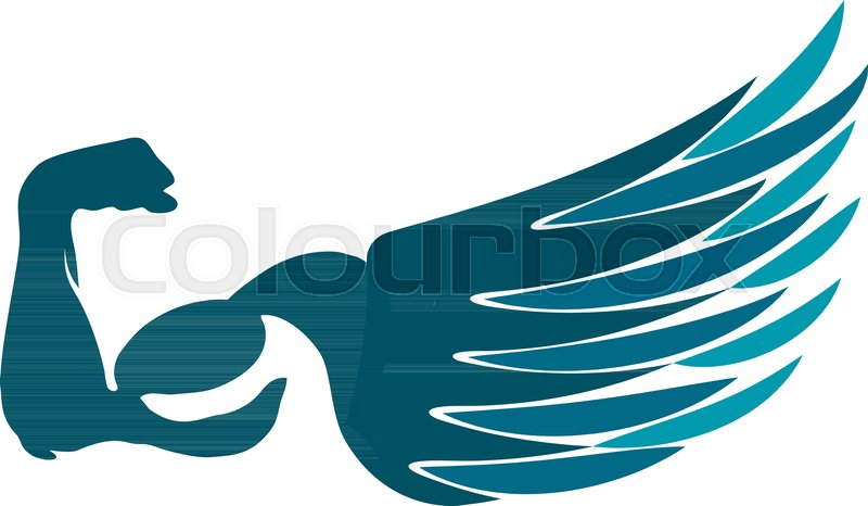 800x466 Wing, Muscle, Hand, Vector, Man, Training, Gym, Strong, Muscular