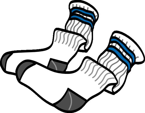 600x468 Athletic Crew Socks Clip Art Free Vector 4vector