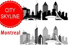 236x157 Atlanta City Vector Skyline By Dimshop On @creativemarket