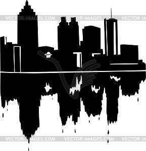 289x300 Atlanta Skyline