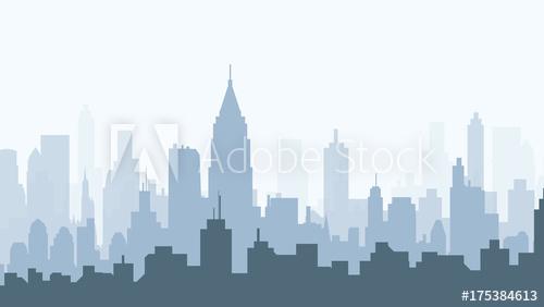 500x282 Morning Atlanta City Skyline