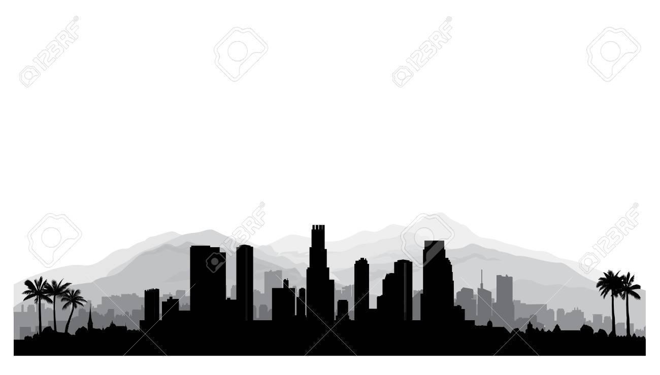 1300x739 Radiant Atlanta Silhouette Skyline Vector Download Rh Vexels Com