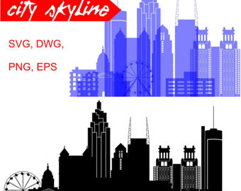 340x270 Skyline Clipart City Atlanta Ga ~ Frames ~ Illustrations ~ Hd