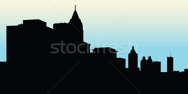 600x300 Atlanta Skyline Vector Illustration Brett Lamb (Blamb) ( 4221506