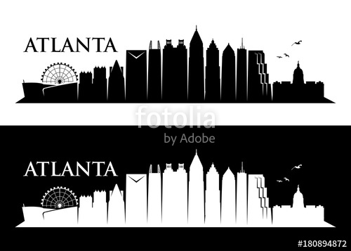500x357 Atlanta Skyline
