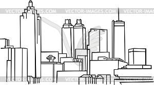 300x167 Atlanta Skyline