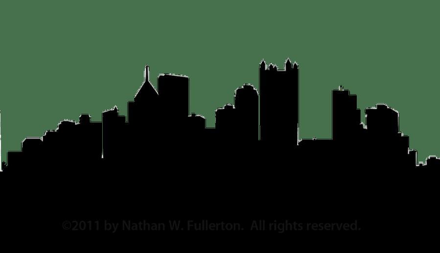 899x518 Vector Atlanta Skyline Silhouette ~ Frames ~ Illustrations ~ Hd