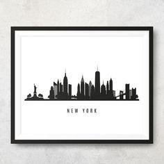 236x236 Atlanta Skyline Printable
