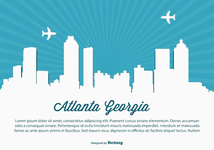 700x490 Atlanta Skyline Vector Inspirational Atlanta Georgia Skyline