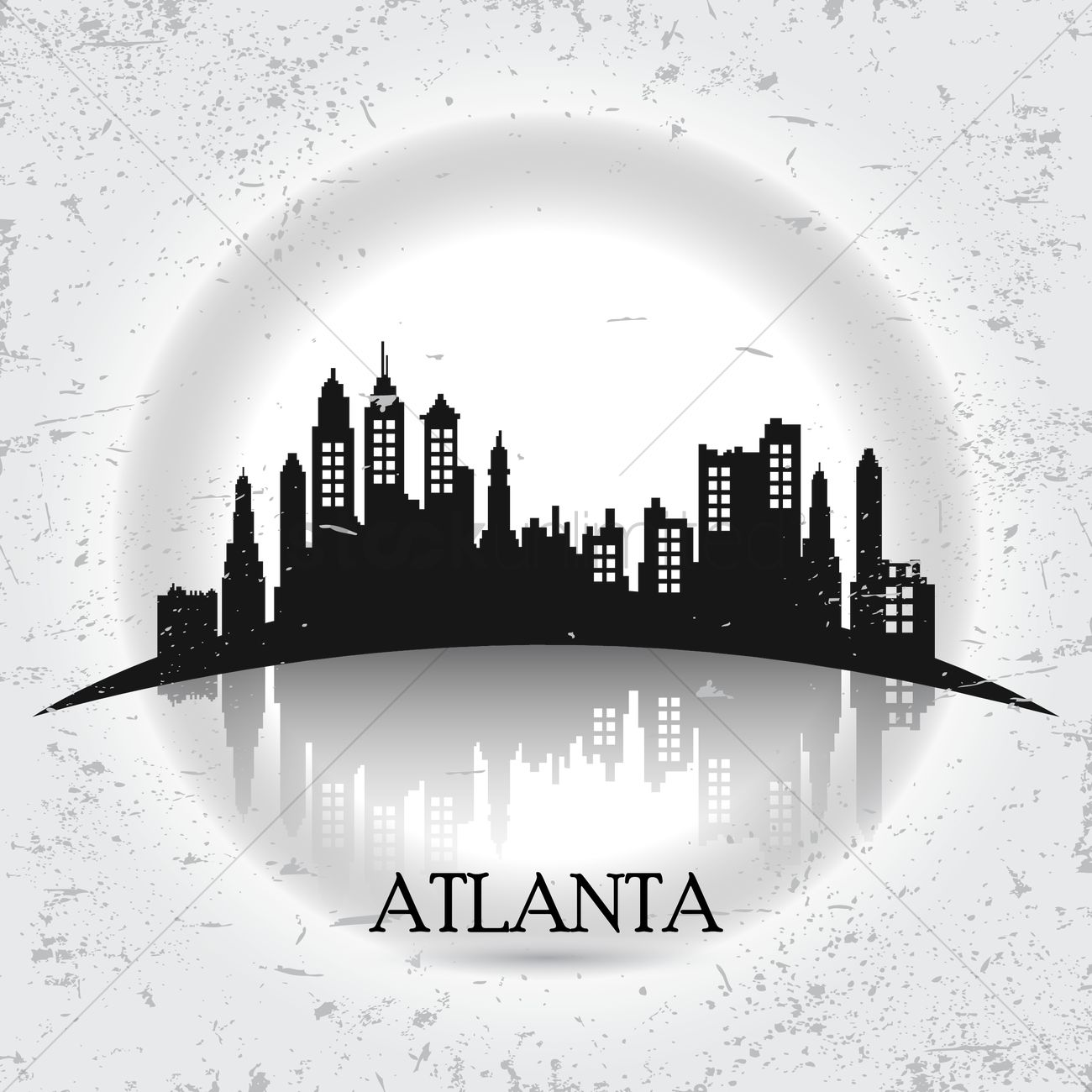 1300x1300 Atlanta Vector Image