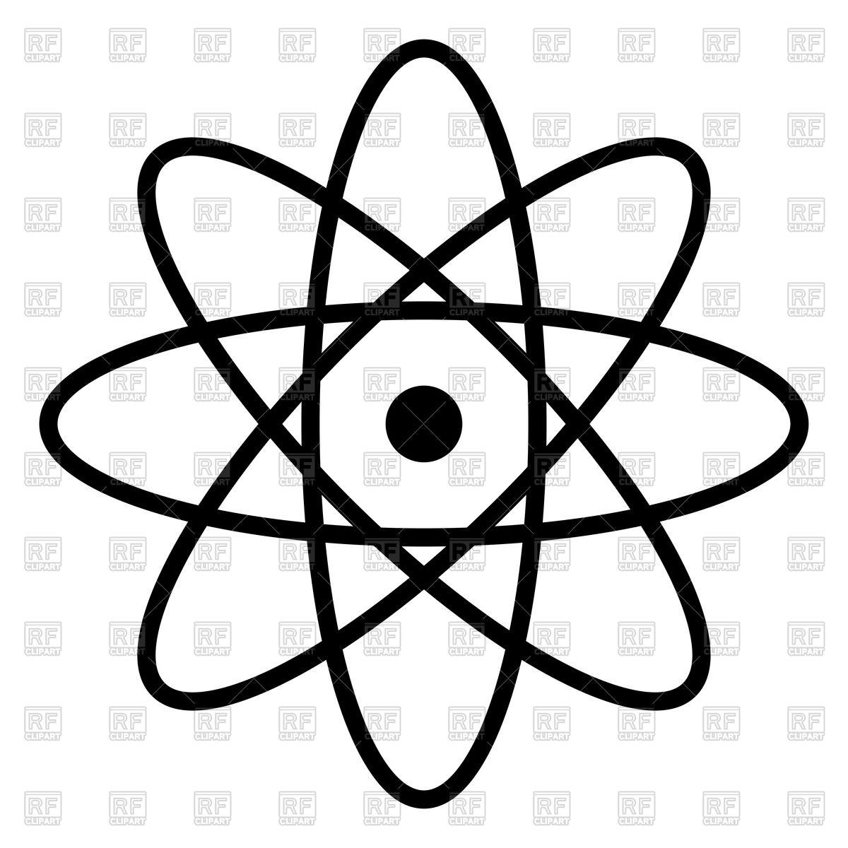 1200x1200 Atom Icon Vector Image Vector Artwork Of Signs, Symbols, Maps