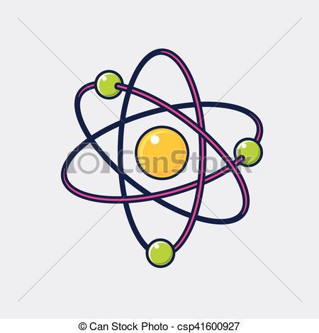 450x470 Atom Icon. Illustration Of Atom Vector Icon For Web Design.