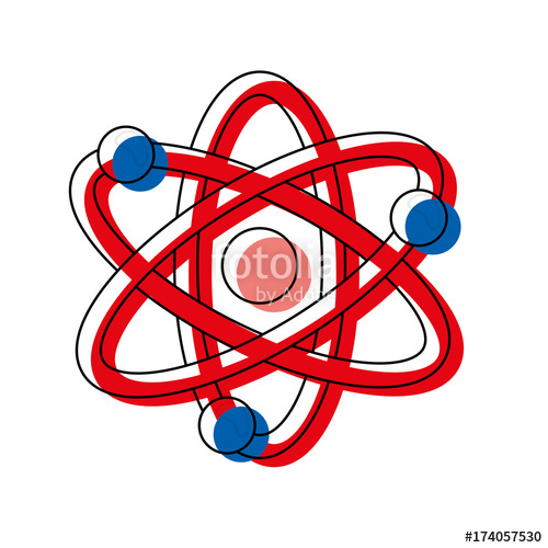 500x500 Atom Vector Illustration Stock Image And Royalty Free Vector