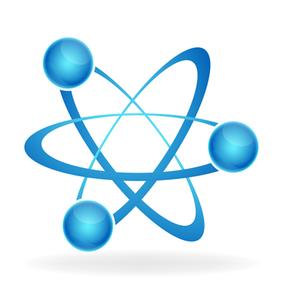 285x300 Atom Icon Vector Free Images
