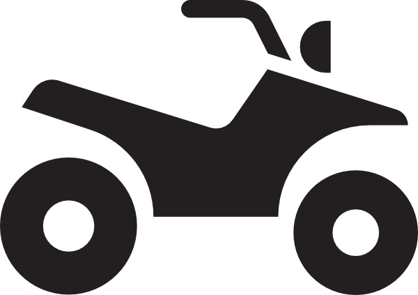 600x423 Atv White Clip Art Free Vector In Open Office Drawing Svg ( .svg