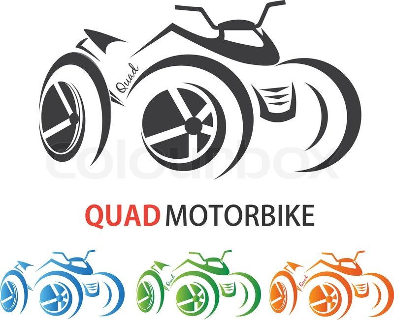800x651 Quad Motorbike, Vector, Sign, Symbol, Stock Vector Colourbox