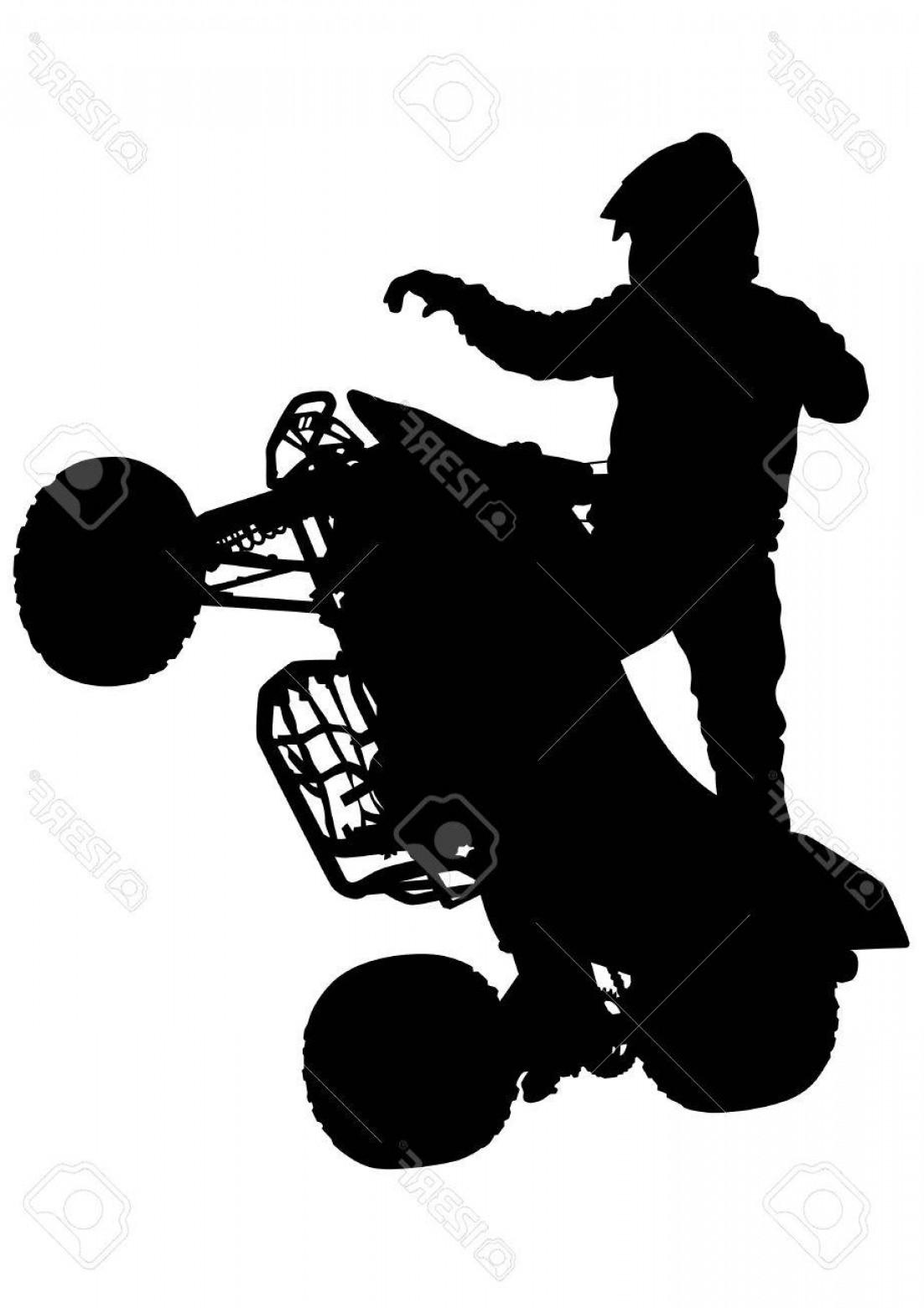 1102x1560 Quad Racing Vector Art Orangiausa