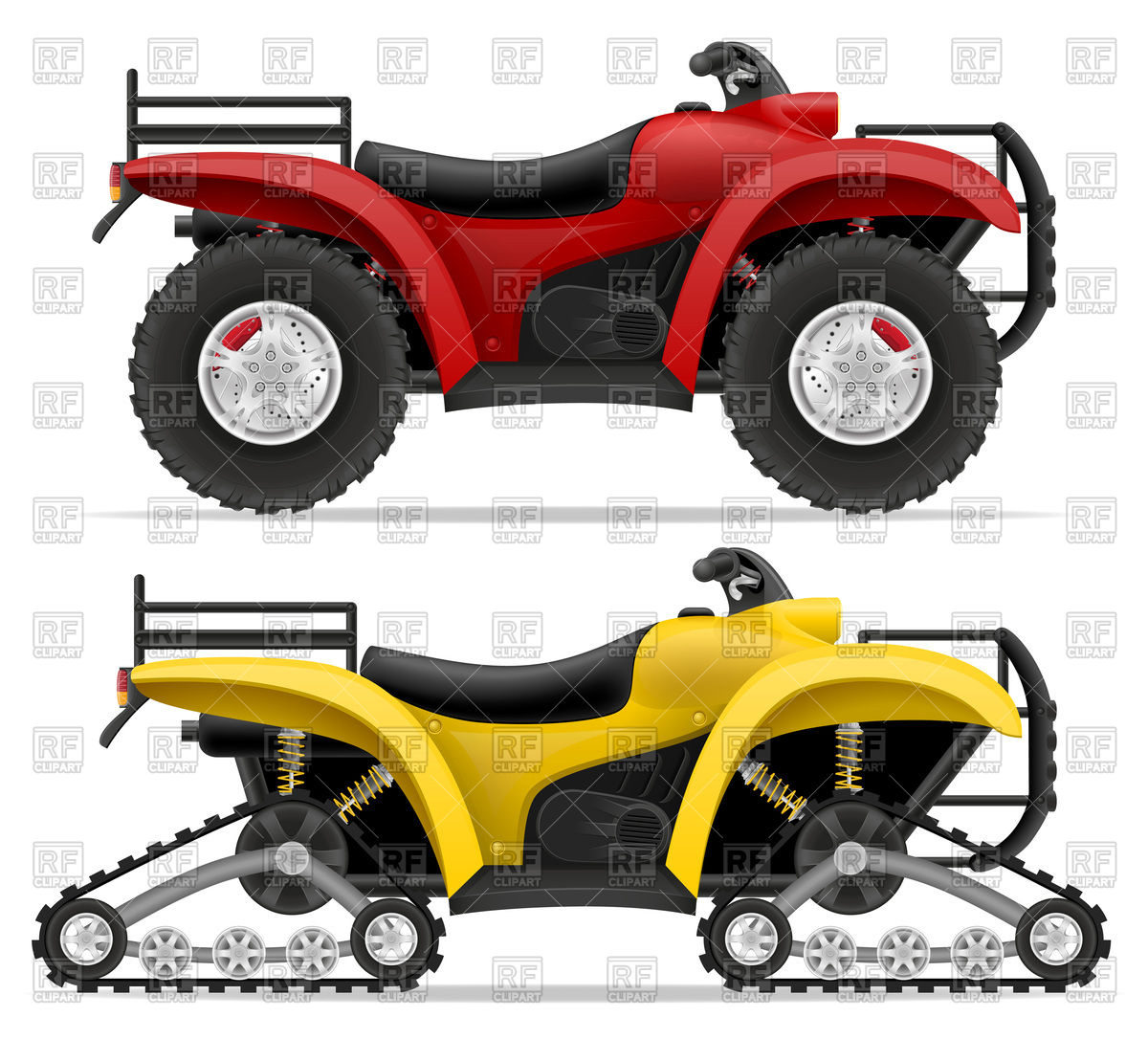 1200x1086 Track Type And Four Wheel All Terrain Vehicle
