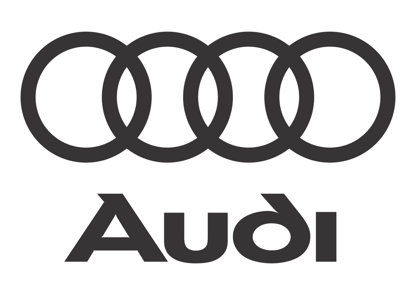 1600x1136 Audi Logo Vector (Black White) Vector Logo Download