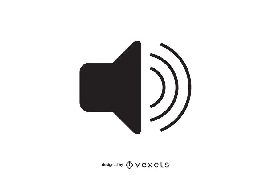 880x570 Simple Audio Volume Icon
