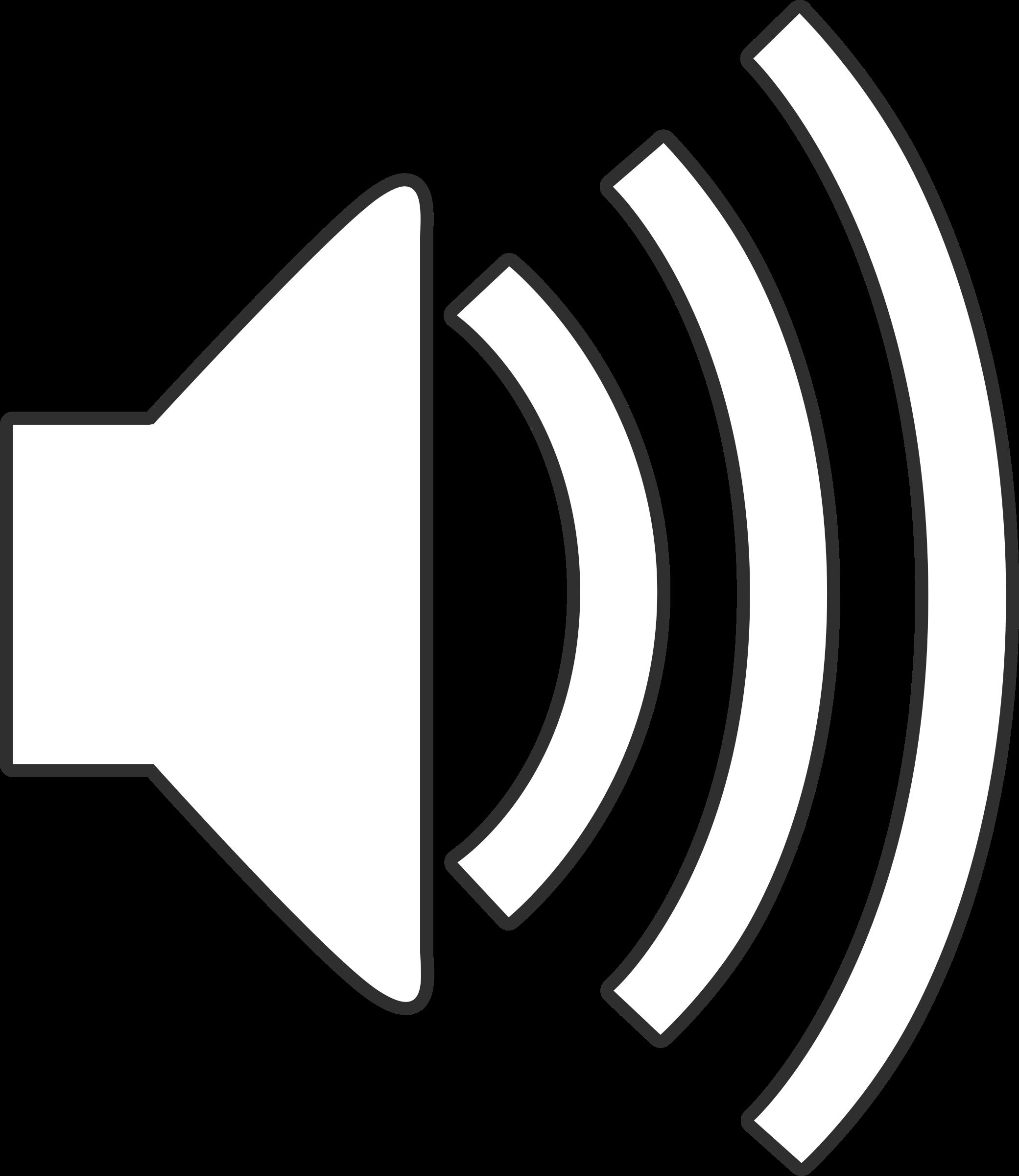 2081x2400 Speaker Clipart Audio Symbol Cute Borders, Vectors, Animated