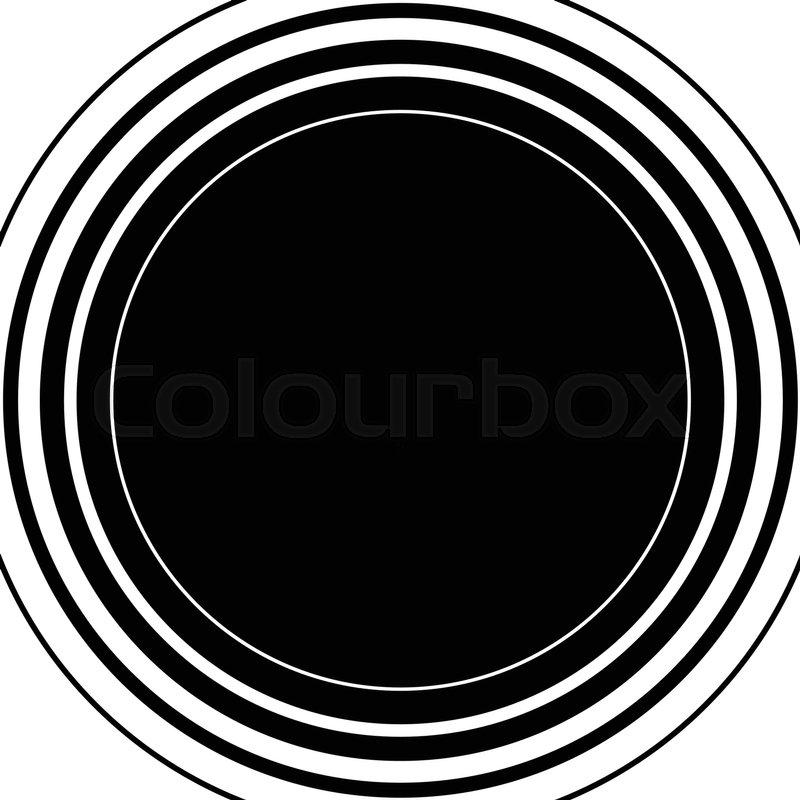 800x800 Circle Pattern. Radial Lines. Abstract Minimalist Sonar, Aura