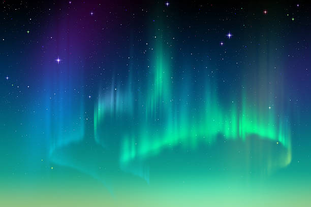 612x408 Collection Of Northern Lights Clipart High Quality, Free