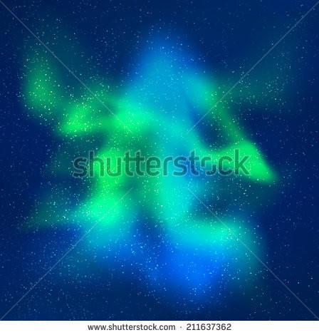 448x470 Blue Aurora Borealis Star Gazing Free Wallpaper Hd Nouveau Vector