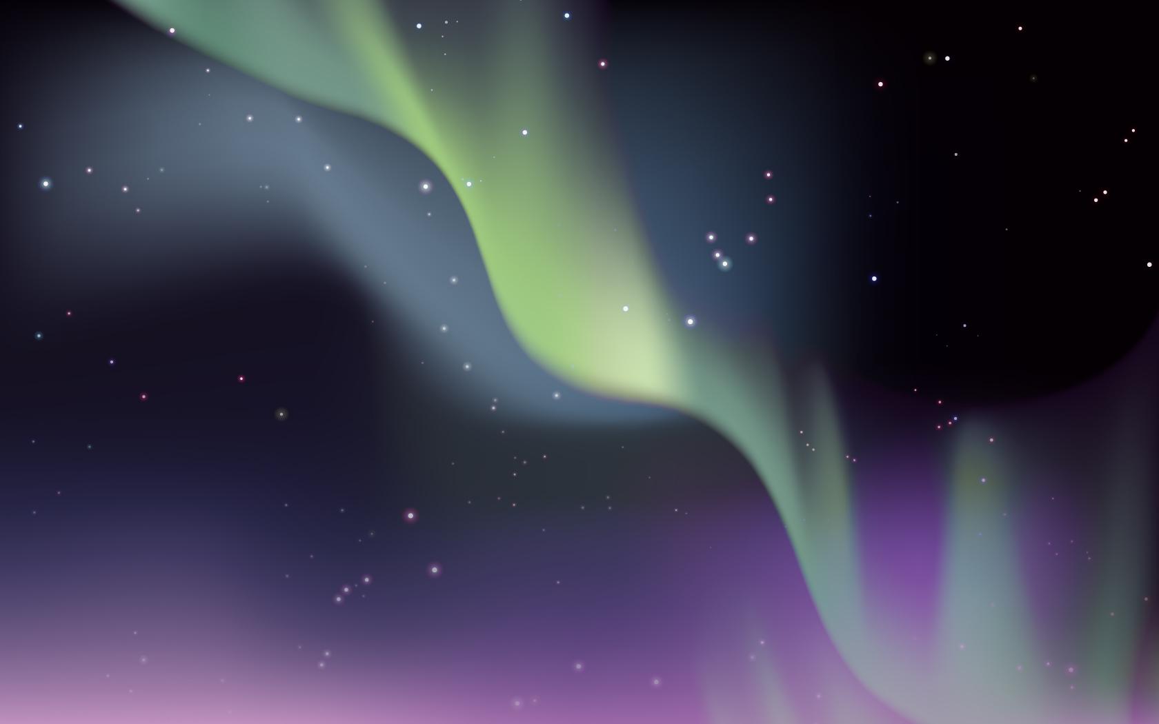 1680x1050 Make An Aurora Borealis Design In Illustrator