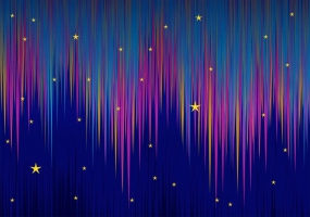 285x200 Northern Lights Background Free Vector Graphic Art Free Download