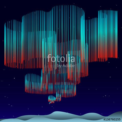 500x500 Aurora Borealis Background