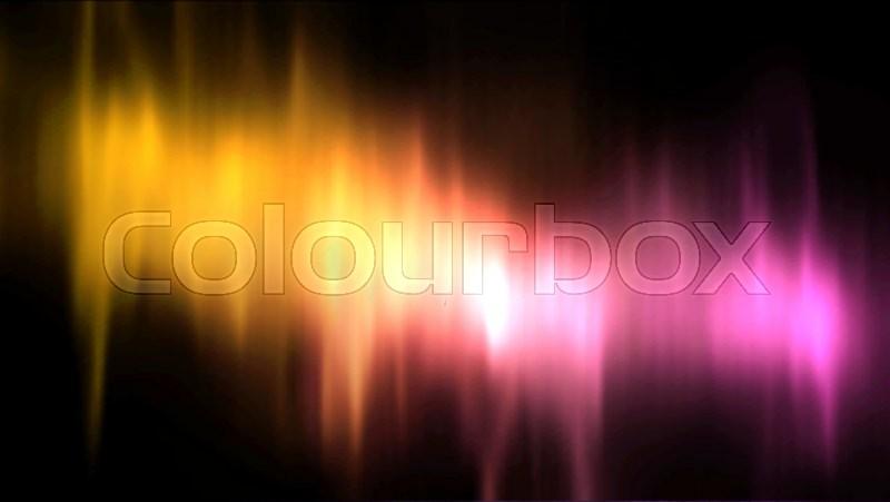 800x451 Vector Aurora Borealis. Vector Northern Lights. Aurora Polaris