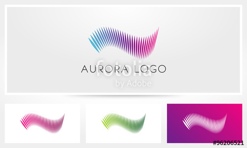 500x300 Aurora Logo Stock Image And Royalty Free Vector Files On Fotolia
